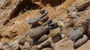 Rock stacks in Portugal