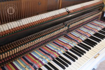 Adding colour to an old piano