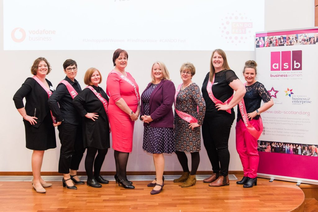 Unstoppable Women Conference 2019 held by the Association of Scottish Businesswomen at the Royal College of Surgeons and Physicians in Edinburgh. What will 2020 look like